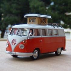 Macheta autorulota Volkswagen Kombi Wesfalia - 1966 scara 1:43