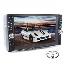Navigatie /Dvd 2din Dedicat Toyota Player Mp3/Mp5 Multimedia Touch screen Mp5, Bluetooth Tv, Usb.