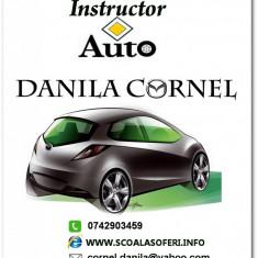 Scoala de Soferi - Danila Cornel instructor auto sector 3 si 2