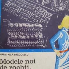 Modele noi de rochii bluze si jachete impletite -Maria Nica Dragoescu - Carte design vestimentar