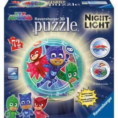 Puzzle Ravensburger 3d Eroi in pijamale M2