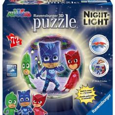 Puzzle Ravensburger 3d Eroi in pijamale M1