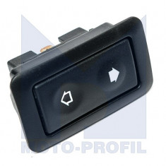 Buton geam electric model universal, comutator geamuri, marca NewAge, cu iluminare - Intrerupator - Regulator Auto