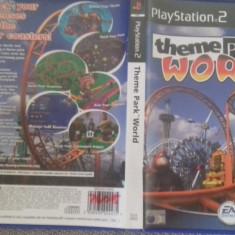 Theme Park World - PS2 Playstation [C] - Jocuri PS2, Strategie, 3+, Single player