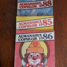 Almanahul copiilor 85+86 +87+88 / C57P - Carte educativa