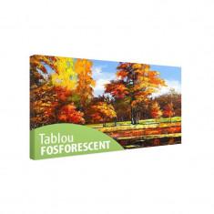 Tablou fosforescent Peisaj de toamna - Tablou canvas