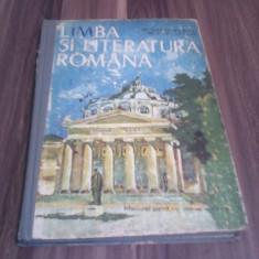 MANUAL LIMBA SI LITERATURA ROMANA CLASA XII NICOLAE MANOLESCU 1982 - Manual scolar, Clasa 12
