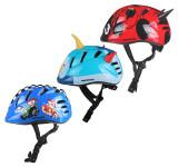 MV7 Casca ciclism pentru copii albastru-rosu XS, Casti bicicleta, Meteor