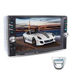 Navigatie /Dvd 2din Dedicat Dacia Player Mp3/Mp5 Multimedia Touch screen Mp5, Bluetooth Tv, Usb.