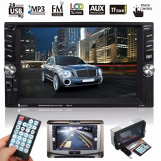 Dvd Player Auto Multimedia Touch screen Mp5, Bluetooth Tv, Usb Compatibil Vw Passat B6 2005-2009.