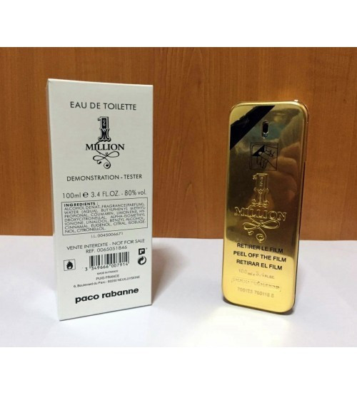 Paco Rabanne 1 Million 100ml │Parfum Tester