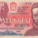 Cehoslovacia 50 korun 1987