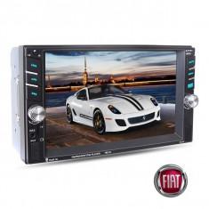 Navigatie /Dvd 2din Dedicat Fiat Player Mp3/Mp5 Multimedia Touch screen Mp5, Bluetooth Tv, Usb