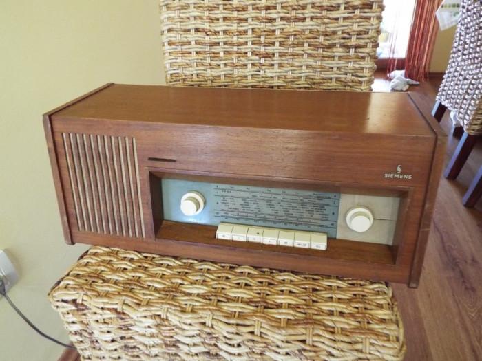 radio pe lampi Siemens