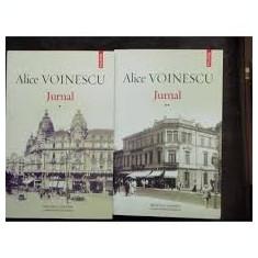 Alice voinescu jurnal vol i+ii - Istorie