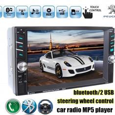 Navigatie /Dvd 2din Dedicat Peugeot Player Mp3/Mp5 Multimedia Touch screen Mp5, Bluetooth Tv, Usb.