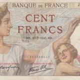 Bancnota Franta de 100 franci 1941