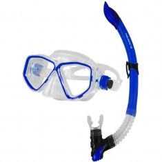 Image+Linus Diving Set – Junior albastru - Snorkeling