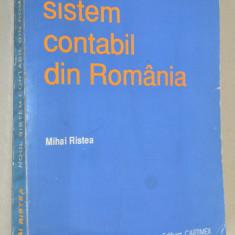 Noul sistem contabil din Romania- Mihai Ristea - Carte Contabilitate