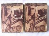 "Carte veche: ""REVOLTA IN DESERT"", Vol 1+2,  T. E. Lawrence, 1934. Cu o harta, Alta editura, Mircea Eliade"