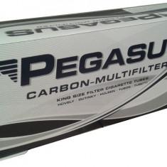 PEGASUS CARBON MF 200 X 5 BUC + TABACHERA METALICA + APARAT STANDARD CU SPATULA - Foite tigari
