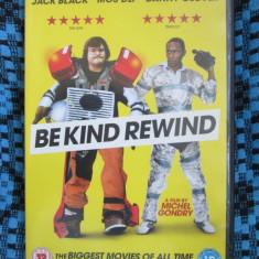 BE KIND REWIND (1 DVD FILM COMEDIE cu JACK BLACK, MOS DEF - CA NOU!!!), Engleza