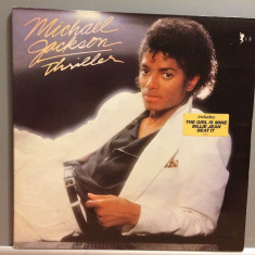 MICHAEL JACKSON - THRILLER (1982/CBS/Holland) - Vinil/Analog/Impecabil(NM) - Muzica Pop Columbia
