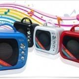 Mini Boxa Portabila Cu MP3 Player si Radio Fm - Slot card si USB