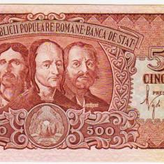 Bancnota 500 Lei 1949 a.UNC cu defect, lipsa 1mm colt dreapta sus - Bancnota romaneasca