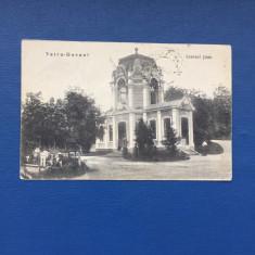 Vatra Dornei - Izvorul - Carte Postala Moldova 1904-1918, Circulata, Fotografie
