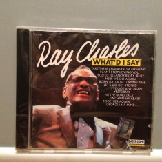 Ray Charles - Best of (1989/Delta rec/Germany) - CD ORIGINAL/Nou/Sigilat - Muzica R&B universal records