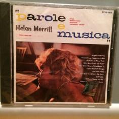 HELEN MERRILL - PAROLE E MUSICA (1988/RCA/JAPAN) - CD ORIGINAL/Nou/Sigilat - Muzica Jazz rca records
