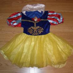Costum carnaval serbare alba ca zapada pentru copii de 3-4 ani - Costum Halloween, Marime: Marime universala, Culoare: Din imagine