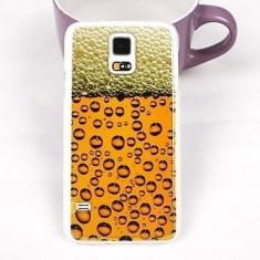 Carcasa pentru Samsung Galaxy S5 / I9600 - Model Halba de Bere - Husa Telefon