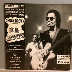 CHUCK BROWN - Live '87 - 2LP Set (1980/Mute Rec/UK) - Vinil/Vinyl/Impecabil(NM+) - Muzica Jazz universal records