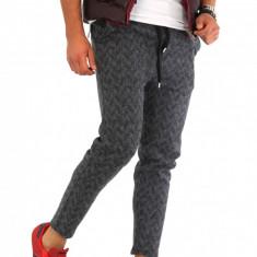 Pantaloni barbati de trening gri - COLECTIE NOUA - 9371, Marime: M, L, XL, Culoare: Din imagine