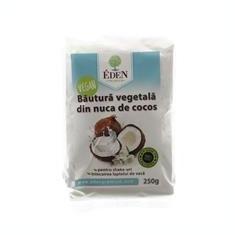 Lapte Praf Nuca Cocos Vegan Eden 250gr Cod: 5999563455462