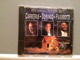 CARRERAS/DOMINGO/PAVAROTTI - CHRISTMAS ....(1992/SONY/AUSTRIA) - CD ORIGINAL/Nou, sony music
