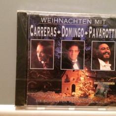 CARRERAS/DOMINGO/PAVAROTTI - CHRISTMAS ....(1992/SONY/AUSTRIA) - CD ORIGINAL/Nou - Muzica Clasica sony music