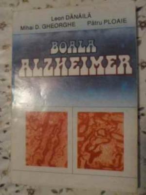 Boala Alzheimer - Leon Danaila Mihai D. Gheorghe Patru Ploaie ,405614 foto