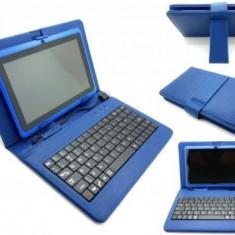 Husa din piele cu tastatura USB pentru tableta de 7 inch - Husa tableta cu tastatura