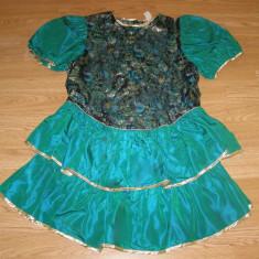 Costum carnaval serbare rochie dans pentru adulti marime S - Costum dans, Marime: Masura unica, Culoare: Din imagine