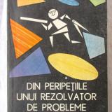DIN PERIPETIILE UNUI REZOLVATOR DE PROBLEME, Gh. Mitroaica, 1987. Carte noua - Carte Matematica