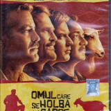 Omul care se holba la capre, DVD, Romana