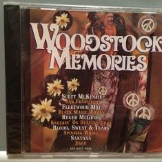 Woodstock Memories - Various Artists (1995/SONY/AUSTRIA) - CD ORIGINAL/Nou - Muzica Rock sony music