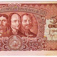 Bancnota 500 Lei 1949 Horia Closca si Crisan a.UNC/UNC - Bancnota romaneasca