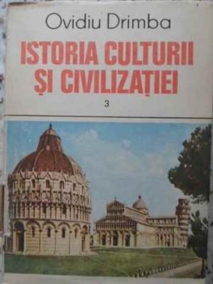 Istoria Culturii Si Civilizatiei Vol.3 - Ovidiu Drimba ,405675 foto