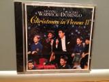D.Warwick & P.Domingo - Christmas (1994/Sony/Germany) - CD ORIGINAL/Nou/Sigilat, sony music