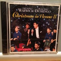 D.Warwick & P.Domingo - Christmas (1994/Sony/Germany) - CD ORIGINAL/Nou/Sigilat - Muzica Clasica sony music