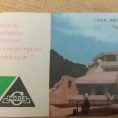 CCO 1974 - CALENDAR DE COLECTIE - TEMATICA TURISM - ANUL 1974 - Calendar colectie